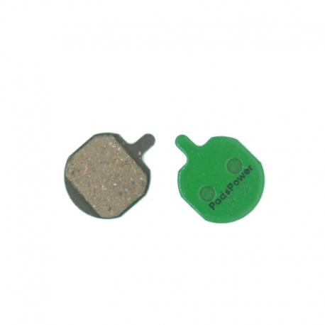 Plaquettes Semi-Métalliques PADSPOWER ROOKIE Hayes Sole, MX2, MX3, MX4, MX5, CX5
