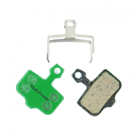 Plaquettes Semi-metallique PADSPOWER ROOKIE Avid/Sram Elixir / XX / X0 / DB / Level / Level T / Level TL