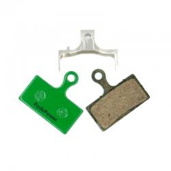 Plaquettes Semi-metallique PADSPOWER ROOKIE Shimano XTR / XT / SLX / Alfine