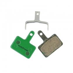 Plaquettes Semi-metallique PADSPOWER ROOKIE Tektro E10.11, Aquila, Auriga, Auriga E-Comp, Auriga Pro, Draco 2