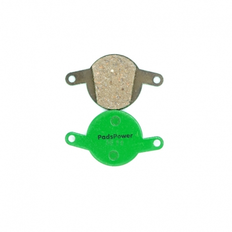 Plaquettes Semi-metallique PADSPOWER ROOKIE Magura Clara 2001-2002, Louise FR, Louise 2002-2006