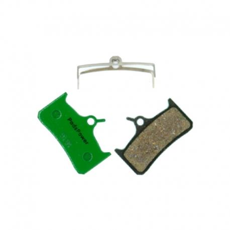 Plaquettes Semi-Métalliques PADSPOWER ROOKIE Mono M4, Tech M4