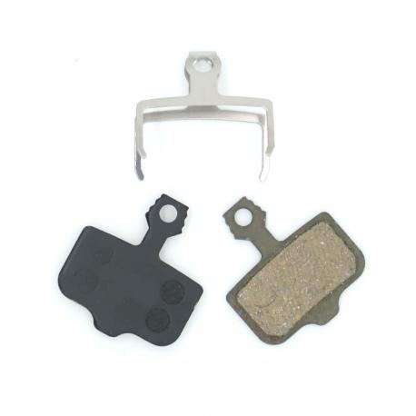 Plaquettes freins Semi-metallique Zero 10X