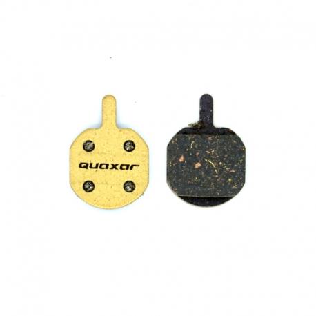 Plaquette carbone Quaxar Hayes Sole, MX2, MX3, MX4, MX5, CX5