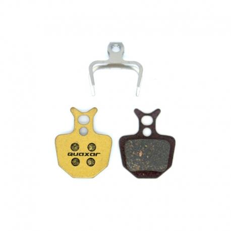 Plaquette frein vtt carbone Quaxar Formula Oro K18 / K24