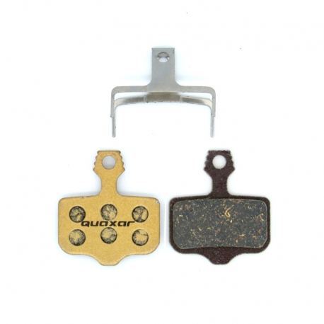 Plaquette frein vtt carbone Quaxar Avid Elixir / XX / X0 / DB / Sram Level / Level T / Level TL