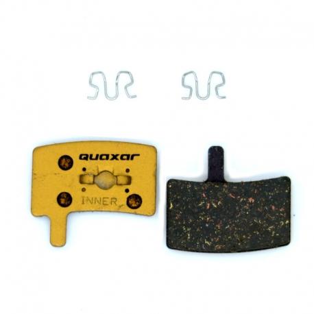 Plaquette VTT carbone Quaxar Hayes Stroker Trail, Stroker Carbon, Stroker Gram