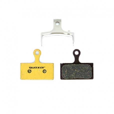 Plaquette carbone Quaxar Shimano XTR / XT / SLX / Alfine / M615