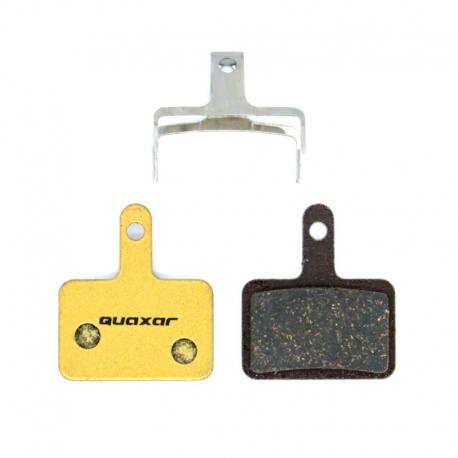 Plaquette carbone Quaxar Shimano B01S Deore, Acera, Alivio, Nexave, M365, M315