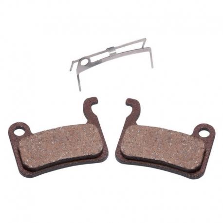 Plaquette frein semi-métallique Baradine pour frein Zoom HB 875 ,HB 100 et X-tech