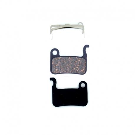 Plaquettes frein trottinette semi-métalliques Symex