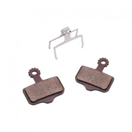 Plaquette semi-métallique Baradine pour trottinette Zero 10X