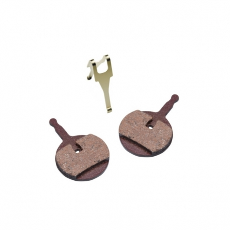 Plaquettes frein VTT semi-metallique Promax 300, Decipher, DSK-710 de chez Baradine