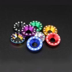 Rondelle couleur pour décoration deck de trottinette