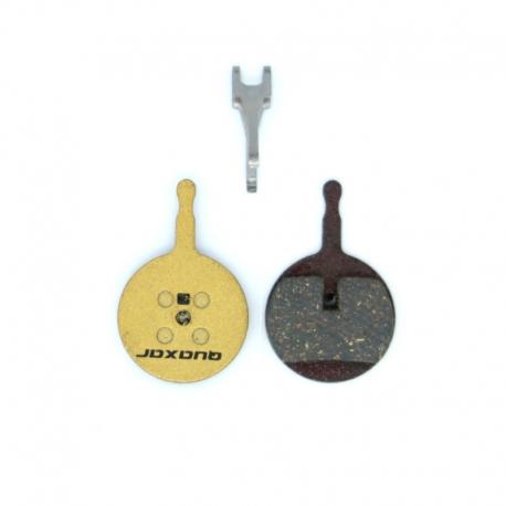 Plaquette frein Quaxar carbone pour trottinette électrique Gunai 3200W, JN60, BN08, GN10, GN12, GN54 et Yume