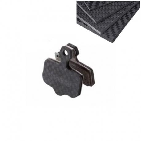 Plaquette frein carbone pour trottinette Zero 10X & 11X