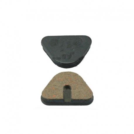 Plaquette frein semi-métallique Diatech Kinetic Nifon Mechanical - Fibrax