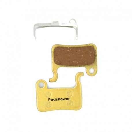 Plaquettes de frein trottinette métalliques Kaabo Mantis 1500W PadsPower Hero