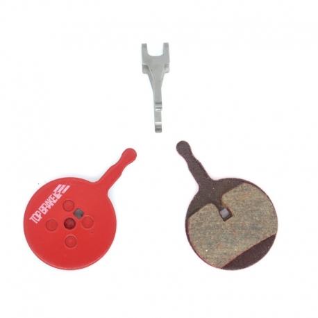 Plaquettes céramique Top-Brake pour freins Promax 300, Decipher, DSK-710