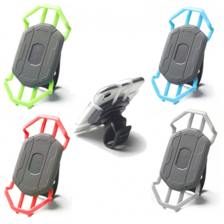 Support téléphone trottinette électrique. Robuste, élégant, facile à monter ! Pour trottinette électrique comme la Xiaomi, Decat
