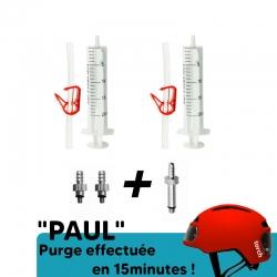 Kit de purge frein ZOOM de chez PadsPower, idéal pour trottinette électrique, VTT !