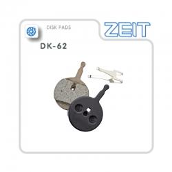 Plaquettes de frein ZEIT pour trottinette électrique Gunai JN60, GN10, GN12, GN54 .