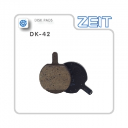 Plaquette de frein ZEIT pour étrier VTT Hayes MX5, Sole, MX2, MX3, MX4, CX5