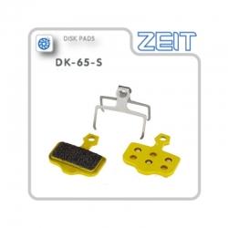 Plaquette de frein métallique ZEIT pour trottinette électrique Dualtron Thunder