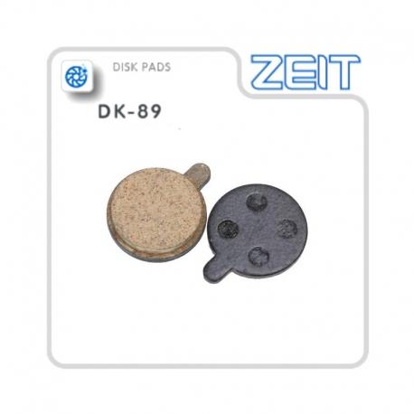 Plaquettes frein Zoom semi-métalliques pour modèle ZOOM DB250, 350, 450, 550 de chez ZEIT