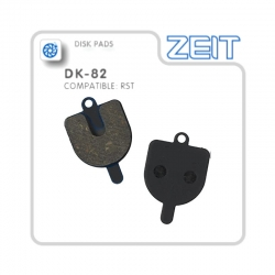 Plaquettes de frein RST semi-métalliques de la marque ZEIT