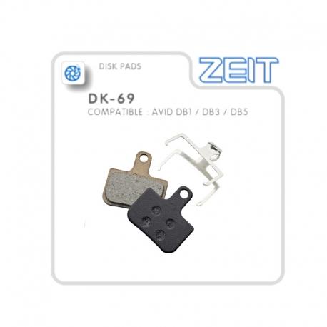 Plaquettes de frein Avid DB-1/DB-3/DB-5 semi-métallique de la marque Zeit