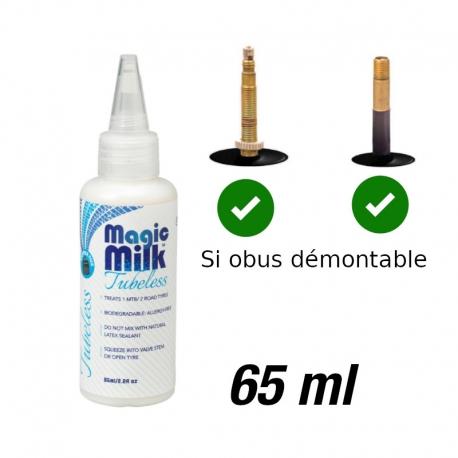 """Liquide préventif VTT tubeless 26"""", 27.5"""", 29"""" Tubeless, route - OKO Magic Milk 65 ml"""