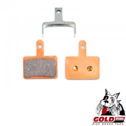 Plaquette de frein métal-céramique Goldfren pour KAABO Wolf Warrior 11 plus