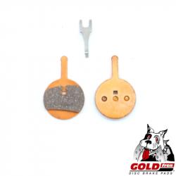 Plaquette de frein métal-céramique Goldfren pour frein VTT Promax 300, decipher,DSK-710, PROMAX 300, 300R, 330R, RENDER, RENDE
