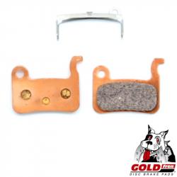 Plaquette de frein métal-céramique Goldfren pour frein VTT Shimano XTR M975, M966, Saint M800, DEORE XT M776, M775, M765, SLX M6