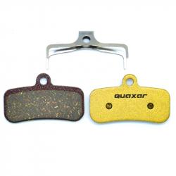 Plaquette carbone Quaxar Shimano SAINT / ZEE / D01S / D02S, Shimano XT M8120/M8020, SLX M7120, SAINT M820/M640/810 ET MT520/420.