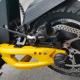 Plaquette carbone Quaxar pour trottinette électrique VSETT 10+, 10 plus équipé de frein ZOOM, frein VSETT