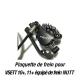 Plaquette de frein métal-céramique Goldfren pour pour trottinette électrique VSETT 10 plus, 11 plus