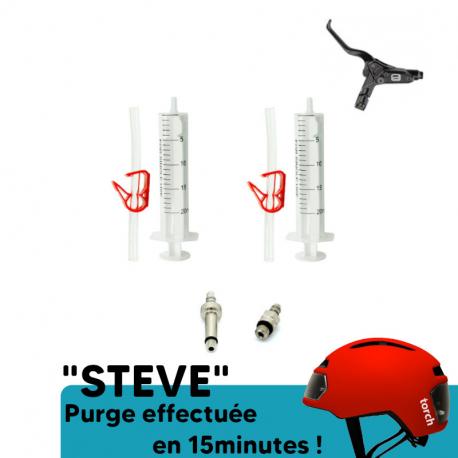 Kit purge frein VTT Promax Lucid, Solve DSK 915 de chez PadsPower