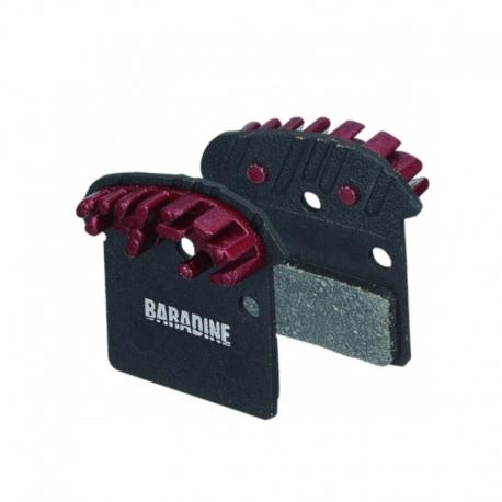 Plaquette ventilée Baradine Shimano XTR M965 / XT / SLX / SAINT