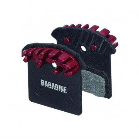 Plaquette ventilée Shimano Baradine J02A / XTR / XT / SLX / Alfine