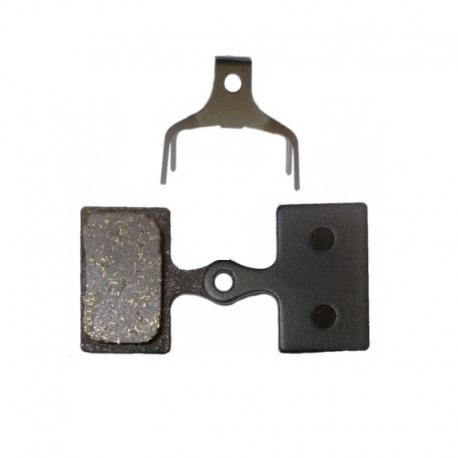 Plaquette semi-métallique Baradine Shimano XTR / XT / SLX / Alfine / M615