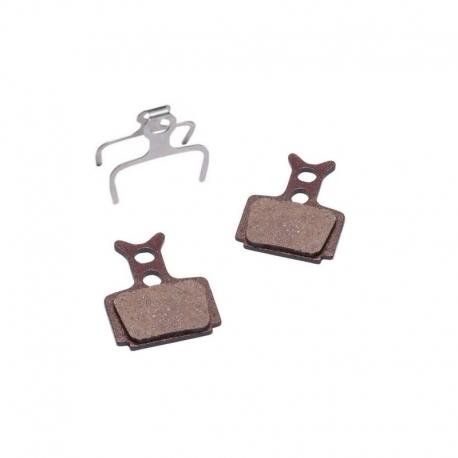 Plaquettes semi-métallique Baradine Formula RX, ONE, MEGA, C1 , R1, CURA