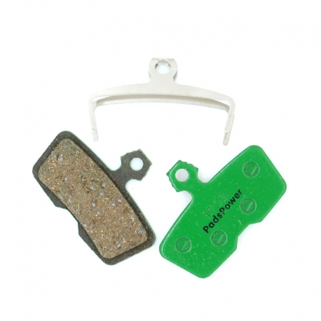 Plaquettes Semi-metallique PADSPOWER ROOKIE Avid Code / Code R / Sram Guide RE