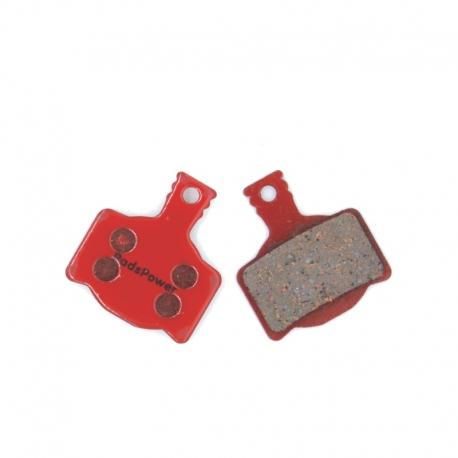 Plaquettes Semi-metallique PADSPOWER EXPERT Magura MT8, MT6, MT4, MT2