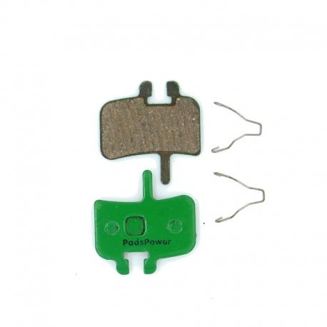 Plaquettes Semi-Métalliques PADSPOWER ROOKIE Hayes HFX-Mag Series, HFX-9 Series, MX1
