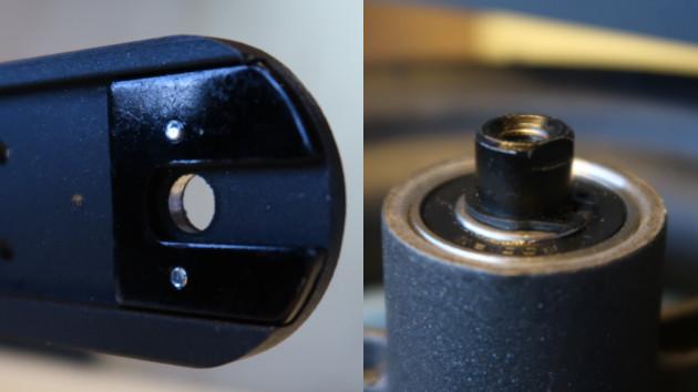 Alignement du méplat de roue de votre trottinette électrique Xiaomi M365