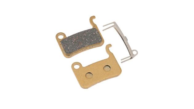 Plaquette frein trottinette électrique métallique