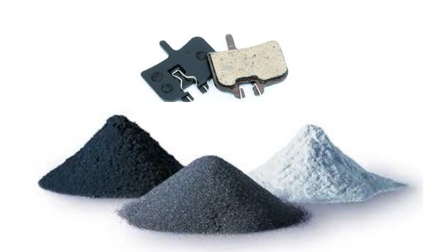 Une paire de plaquette vtt céramique Avid Juicy et poudre céramique