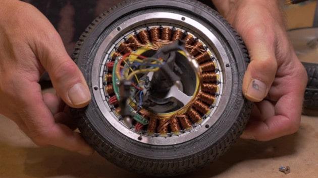 Faire un rebobinage de son moteur de trottinette électrique